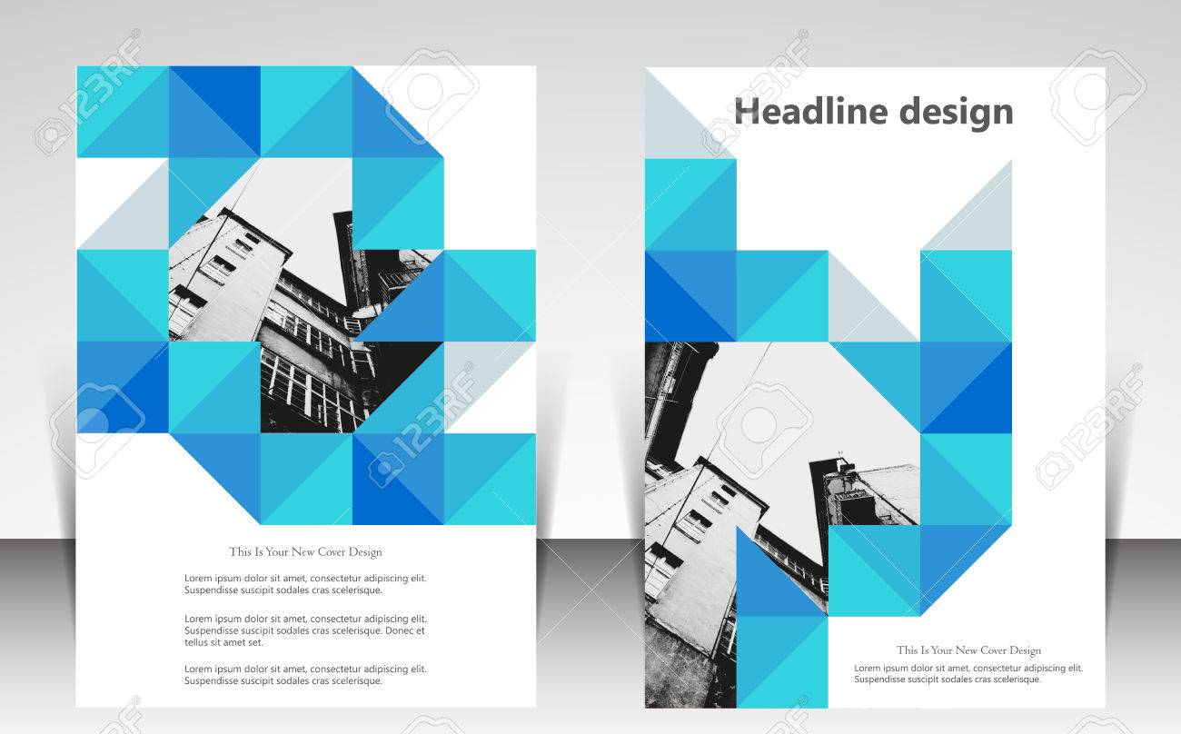 illustration for website page layout template design business
