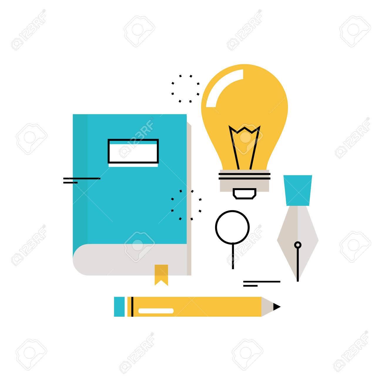 e learning online education flat vector illustration design rh 123rf com free graphic online editor free graphics online editor