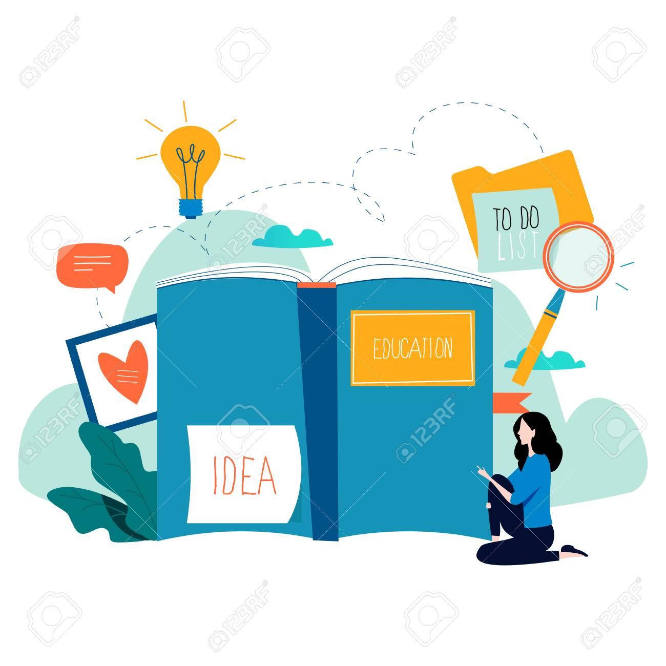 education online training courses distance education flat vector rh 123rf com free graphics online creator free graphic online designer