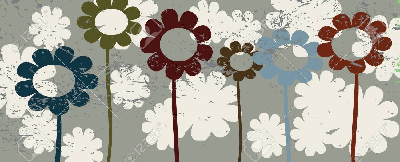 Floral illustration, vector art Stock Vector - 5514121