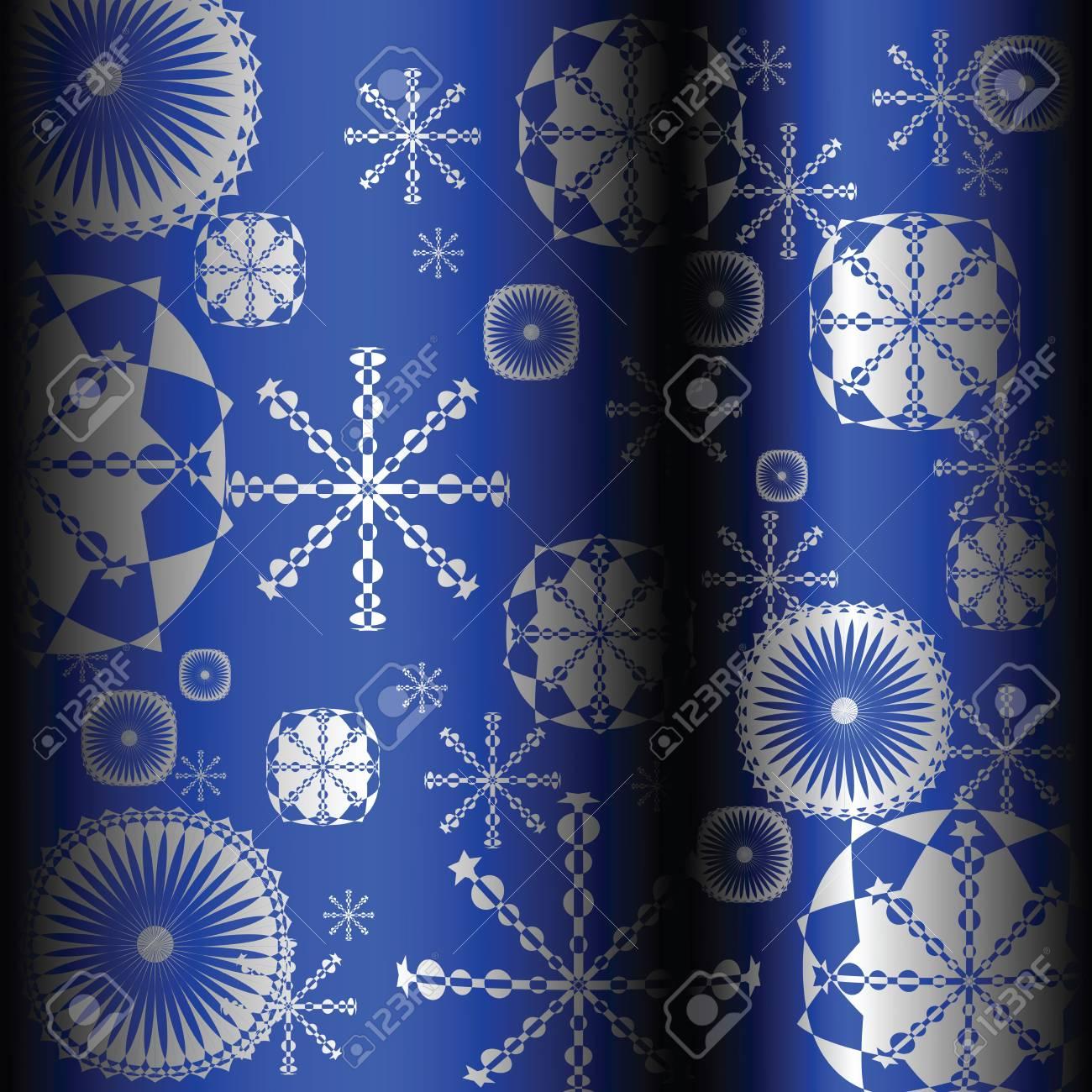 Seamless background with snowflakes Stock Photo - 6528263