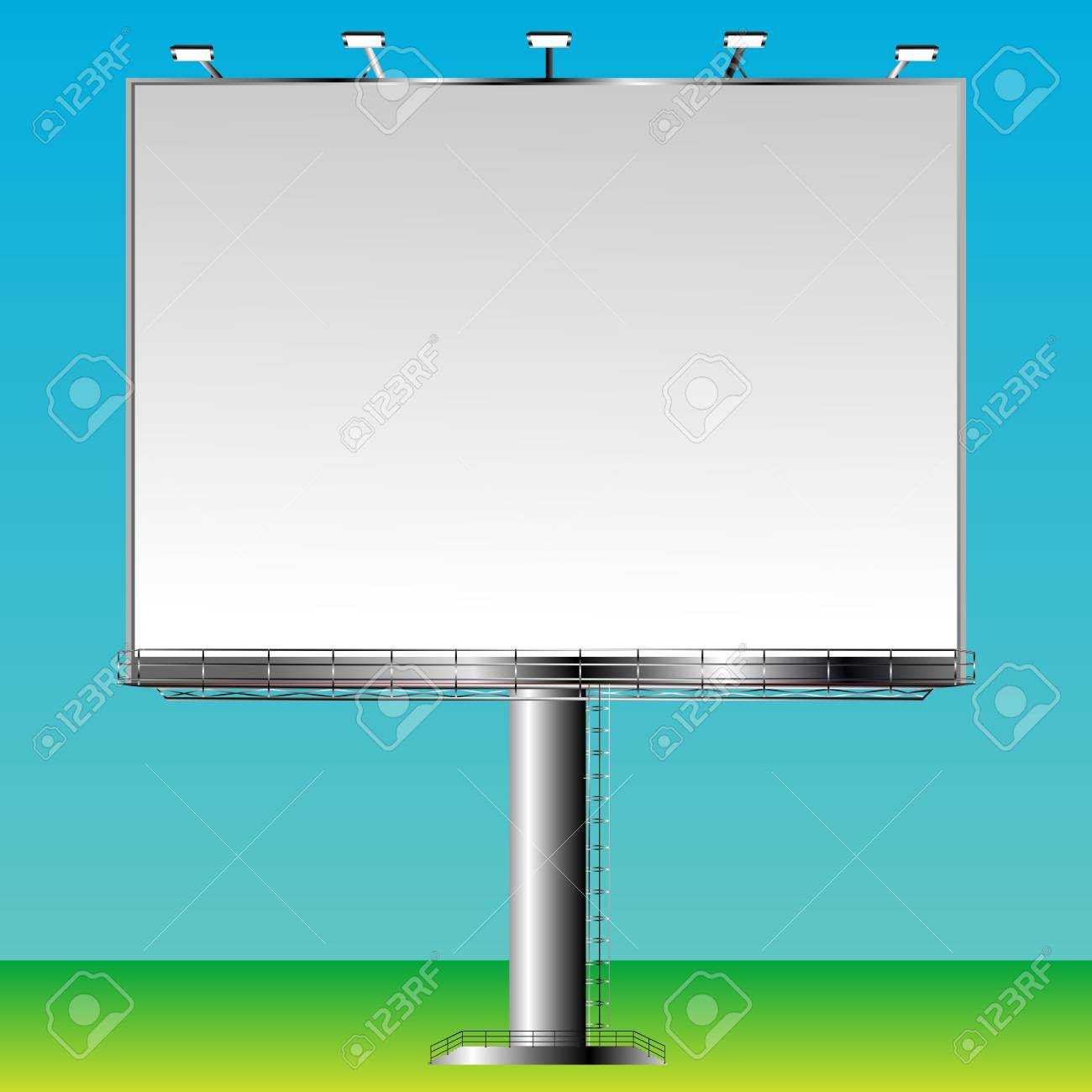Blank billboard sign ready for add Stock Vector - 8104261