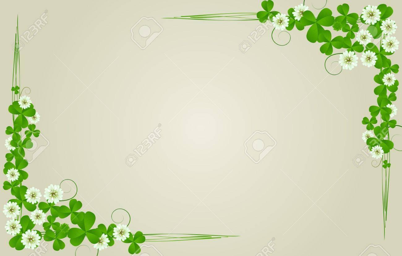 St. Patrick's Day postcard, standard size Stock Photo - 8639067