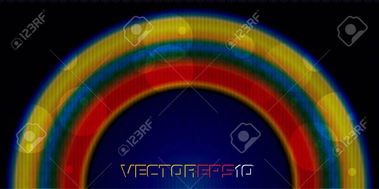 Stylish rainbow Stock Vector - 17200118