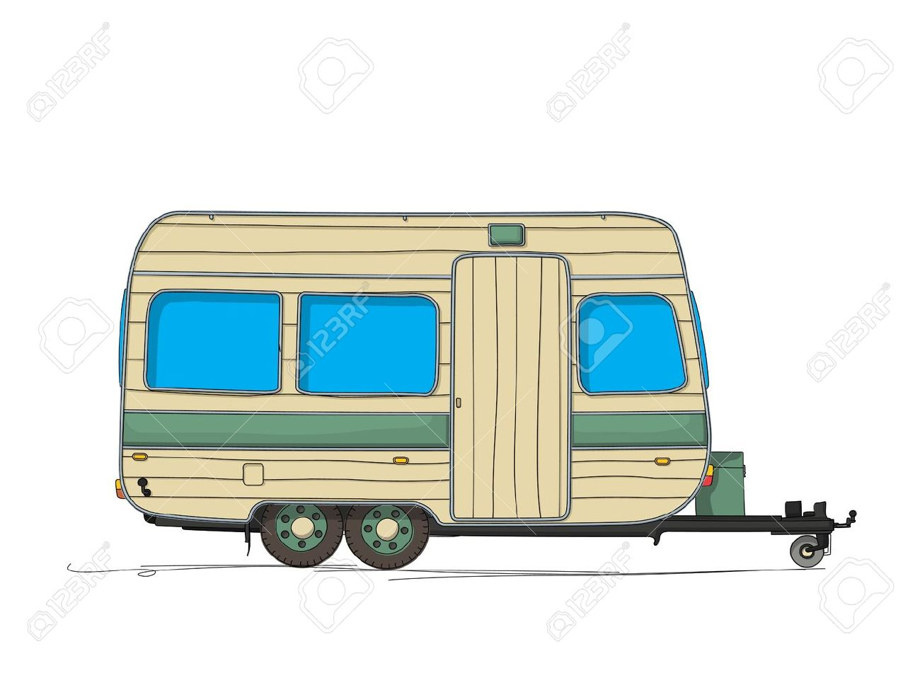 7,396 The Caravan Stock Vector Illustration And Royalty Free The ...