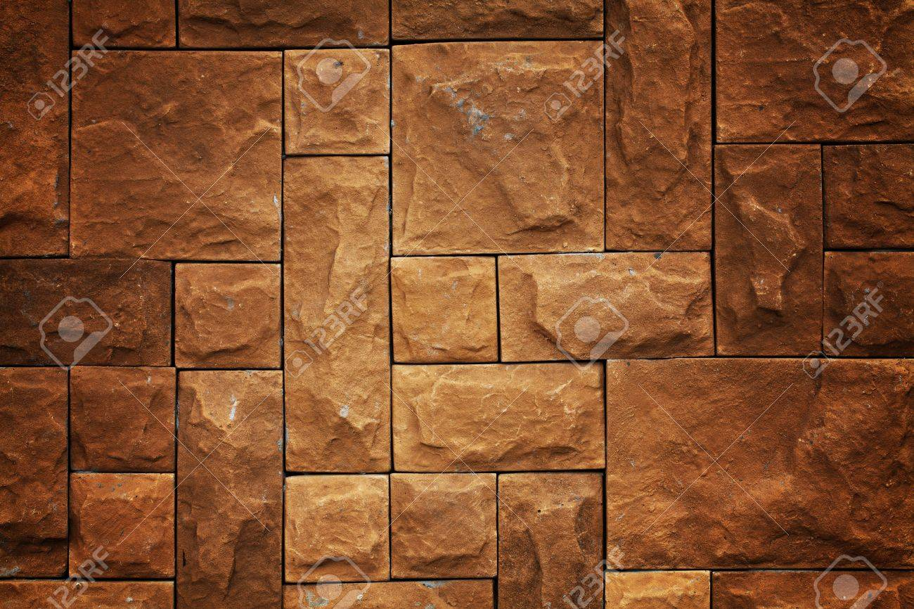 Yellow brick pattern background Stock Photo - 13926552