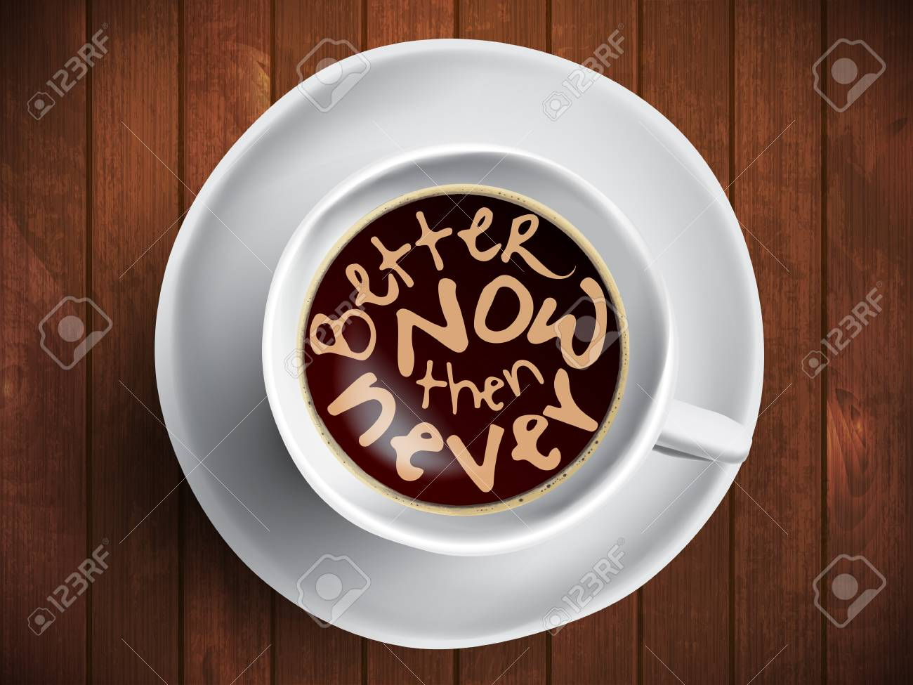Citaten Koffie English : Coffee cup with time lettering motivation quotes about time