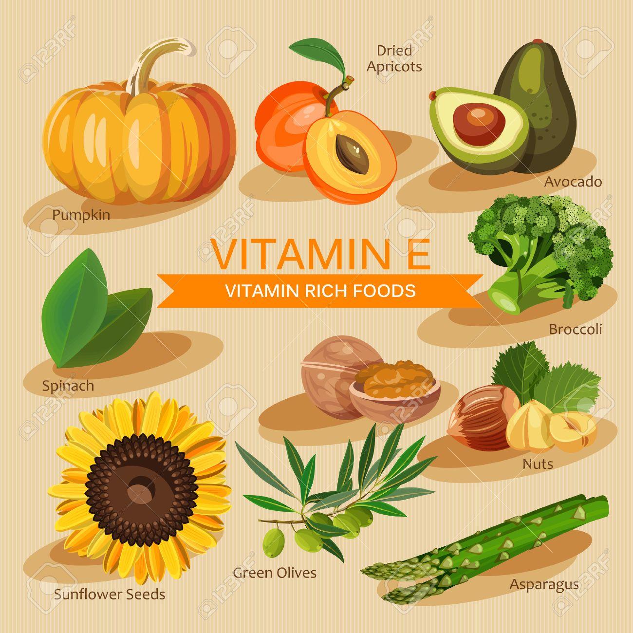 frutas y verduras que contienen vitamina a