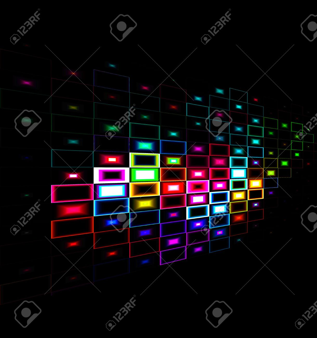 multicolor abstract background design with a black background stockmulticolor abstract background design with a black background stock photo 4928337