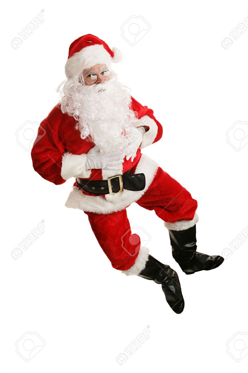 Uncategorized Santa Dancing Gif happy dancing santa claus jumps in the air and kicks up his heels model