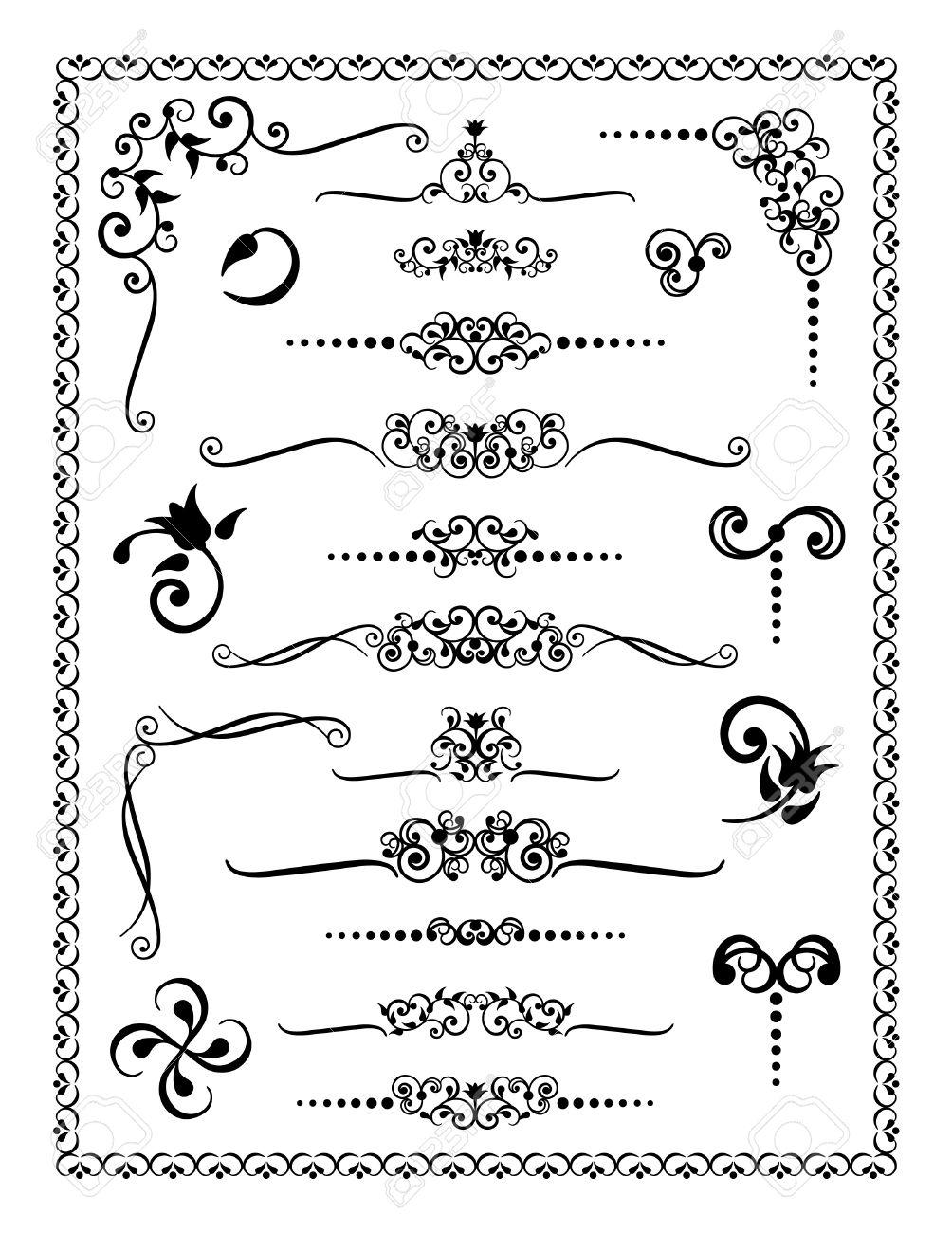 280f7ac6cca7b Colección   2 De Bordes Decorativos