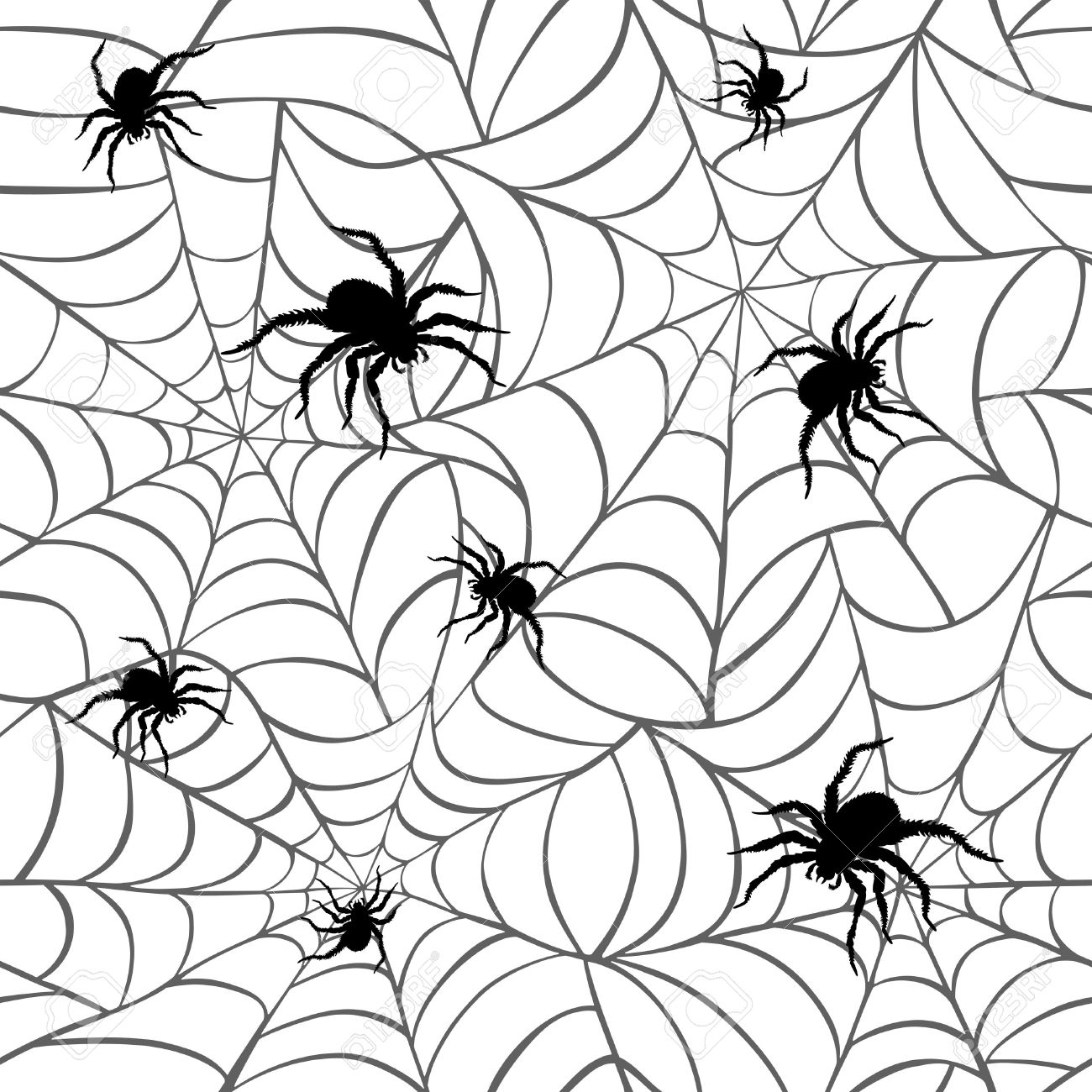 37 965 spider stock vector illustration and royalty free spider