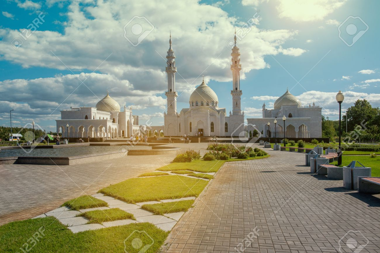 Provincial Russian Town In