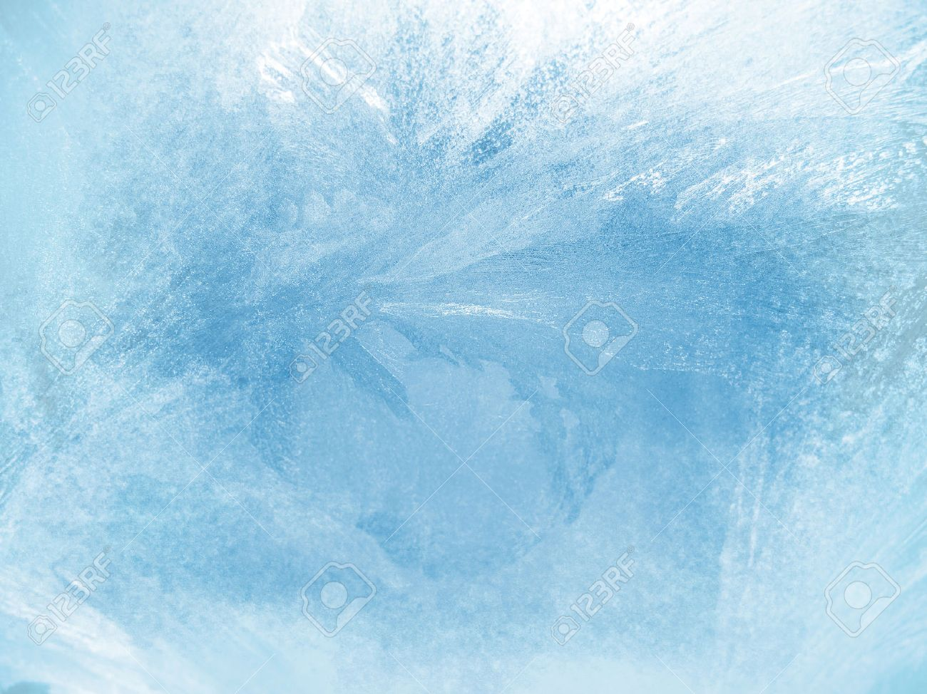 Ice on a window, background - 55233499