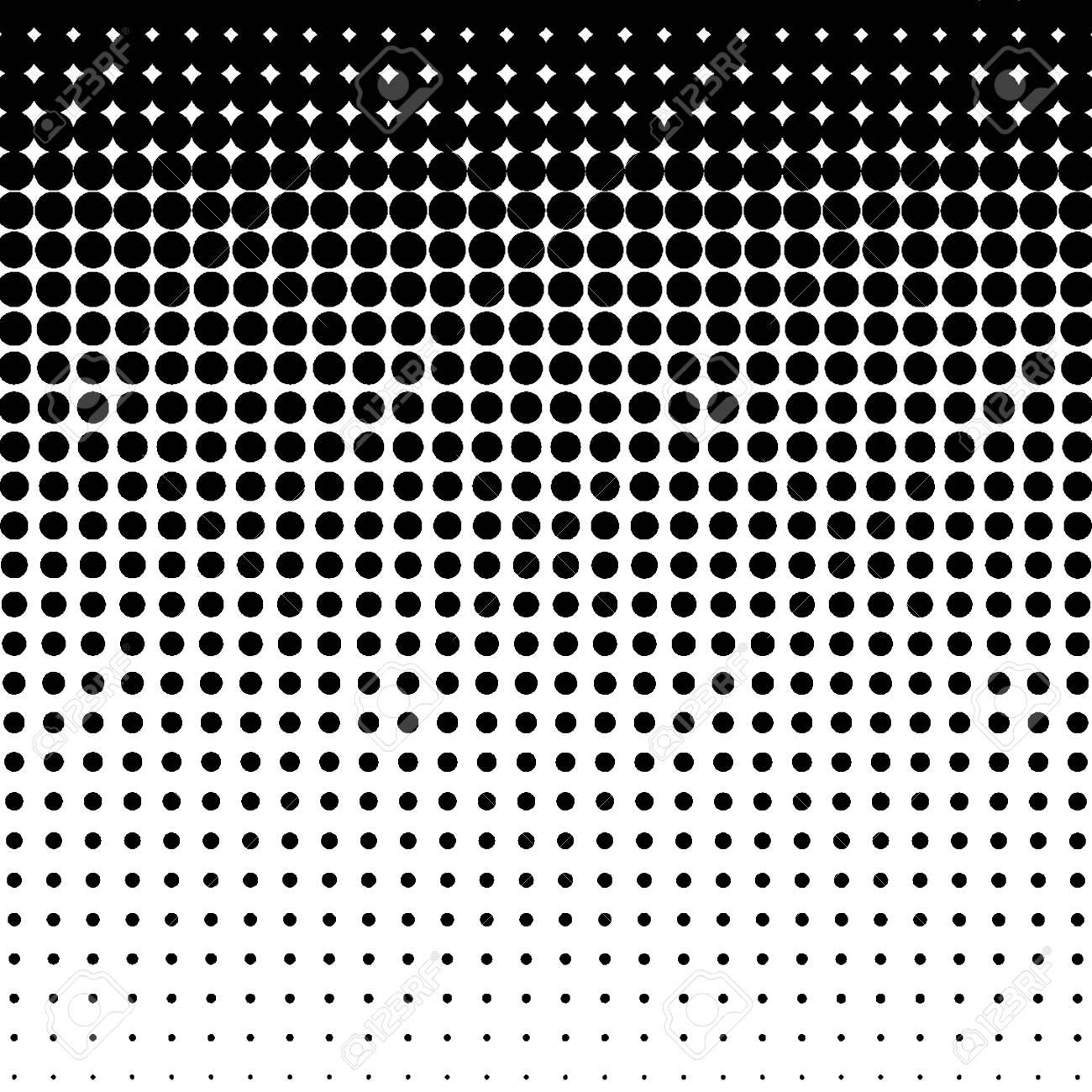 Halftone pattern. Gradient halftone dots background. Vector illustration. - 123036166