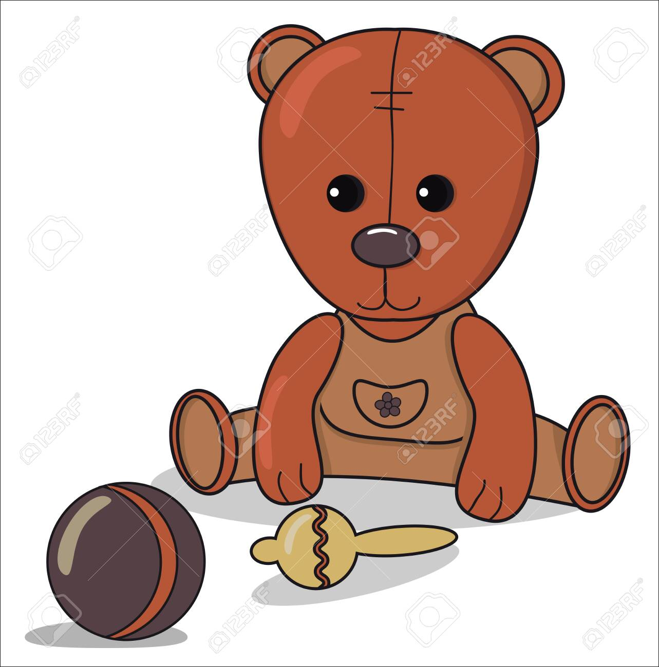 Prime Teddy Bear With Beanbag Ball Baby Announcement Metric Card Dailytribune Chair Design For Home Dailytribuneorg