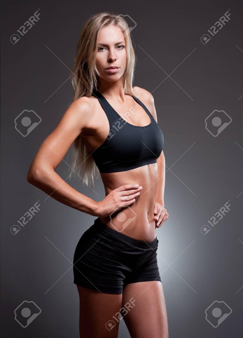 """Muskulös frau """"Pick"""