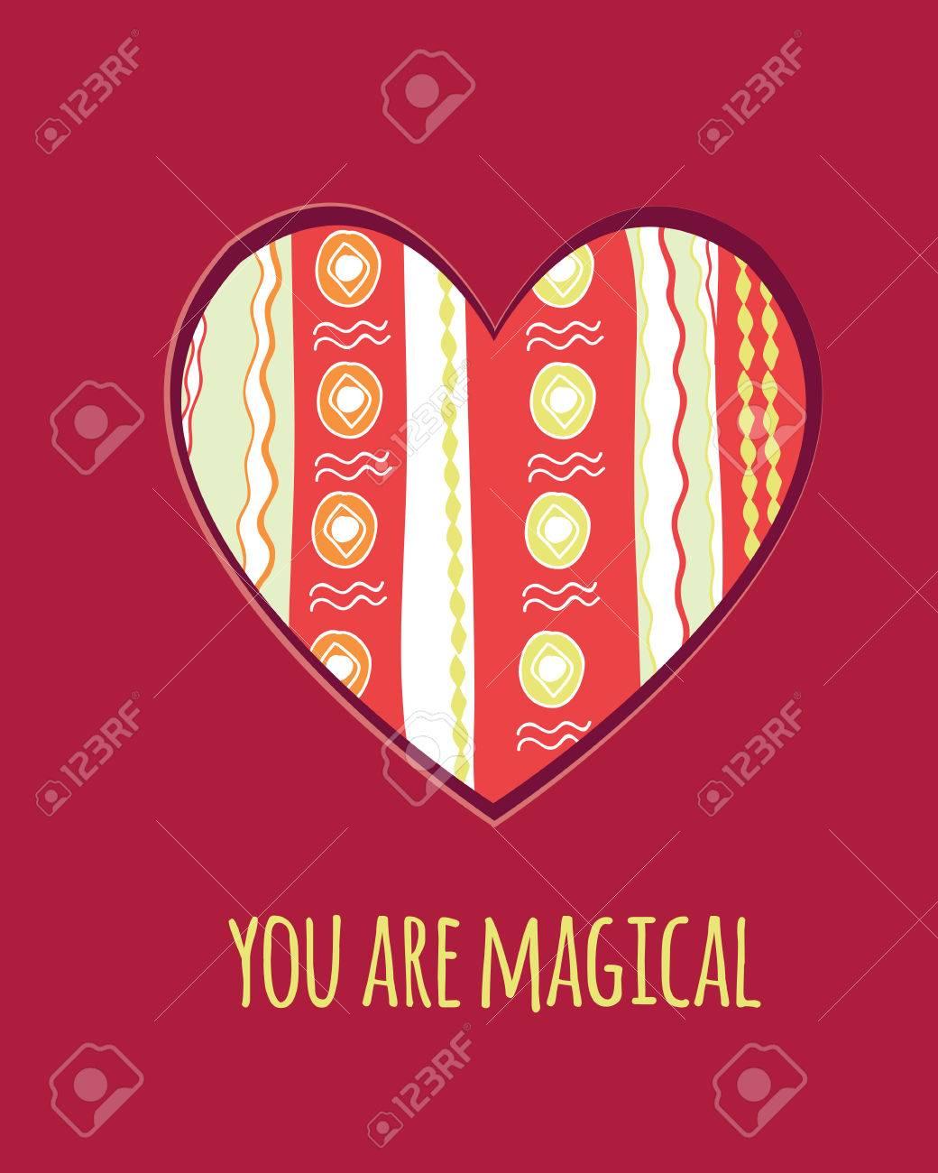 La Plantilla De Vectores De San Valentín Modelo Rojo Con Corazón Adornado De Carteles Tarjetas De Felicitación Folletos Y La Bandera Diseños Web