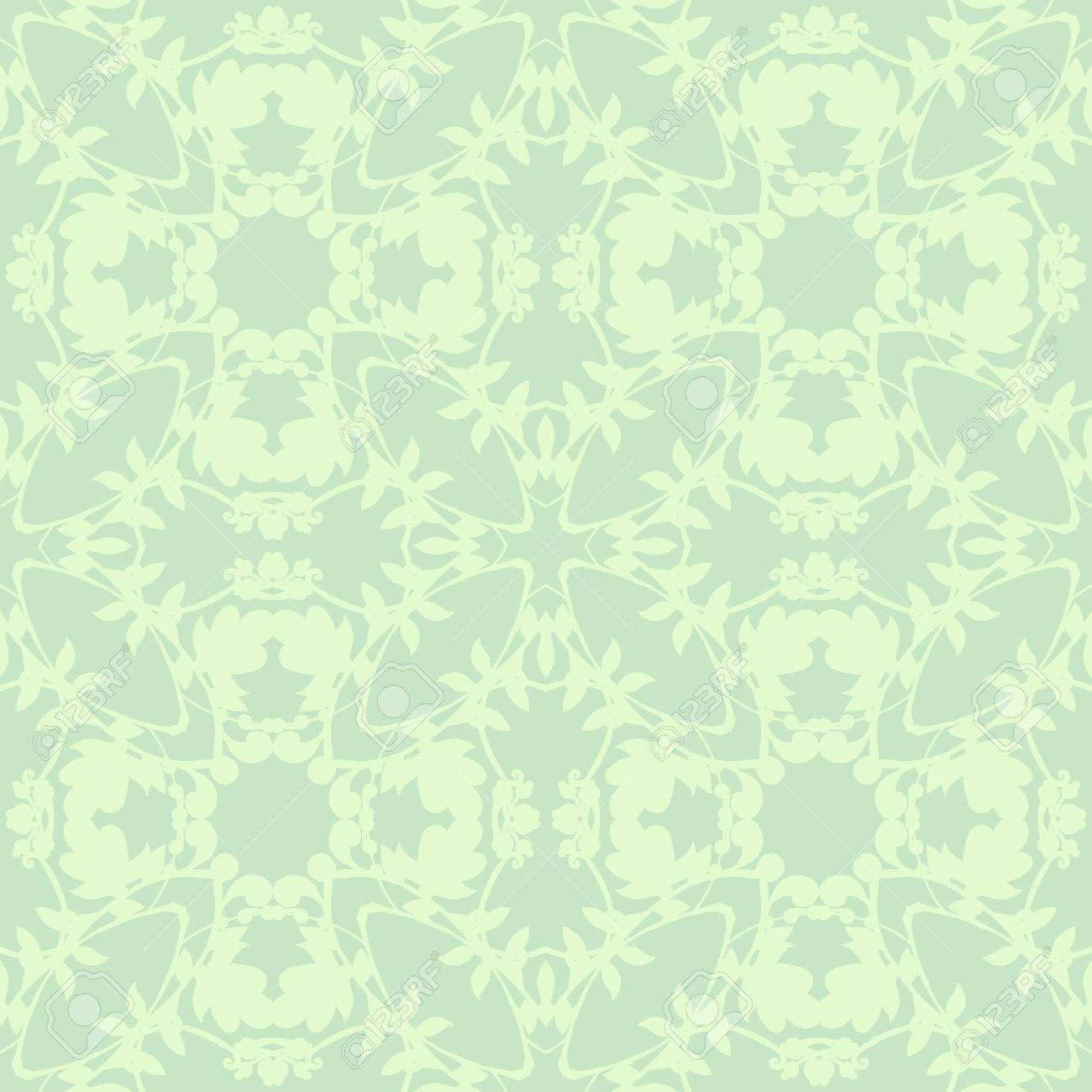 Neutral Floral Background Use As Fill Pattern Wallpaper Seamless