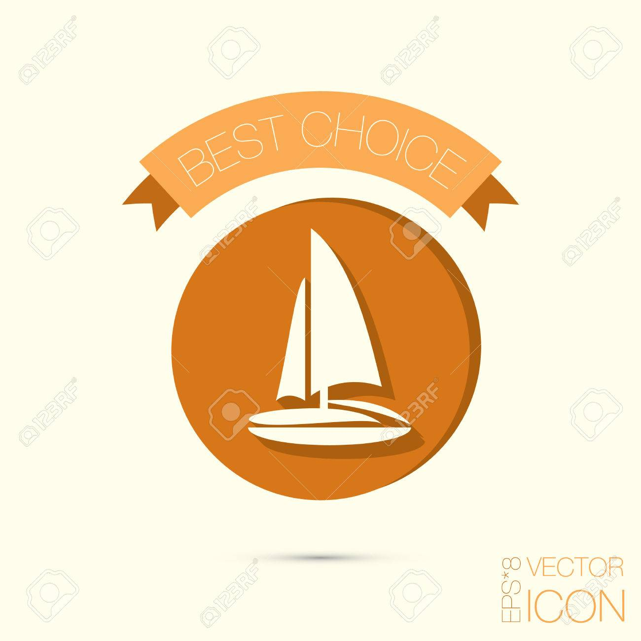 Sailing ship symbol icon boat steamer sailboat sign royalty sailing ship symbol icon boat steamer sailboat sign stock vector 37293947 buycottarizona