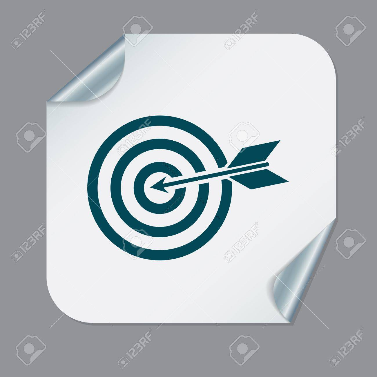 Target symbol sporty character hit the target royalty free target symbol sporty character hit the target stock vector 40436017 buycottarizona Image collections