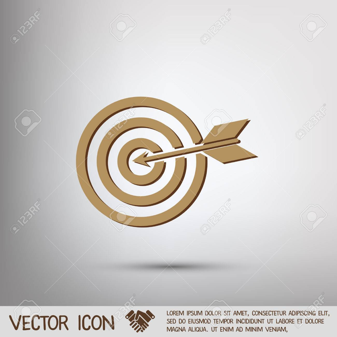 Target symbol sporty character hit the target royalty free target symbol sporty character hit the target stock vector 43629856 buycottarizona Image collections