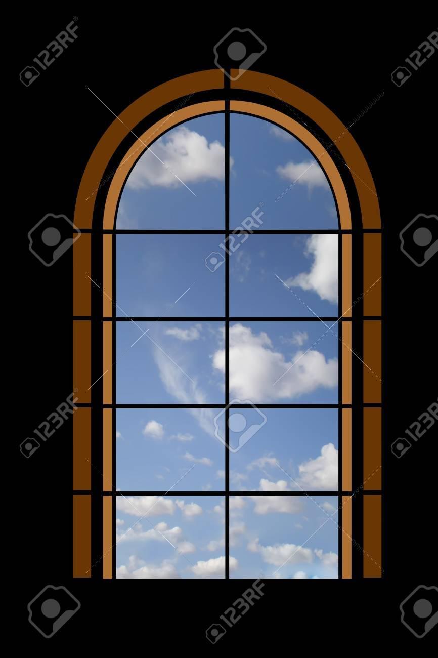 look through a window Stock Photo - 3081680
