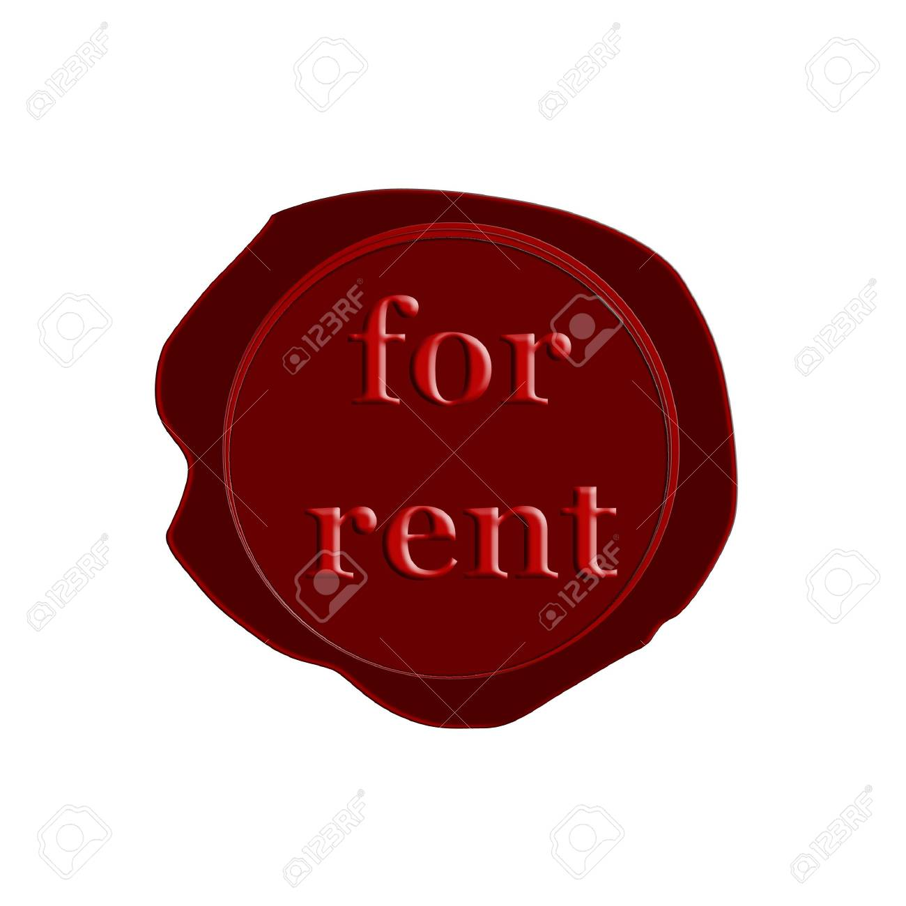 stamp for rent Stock Photo - 3212542