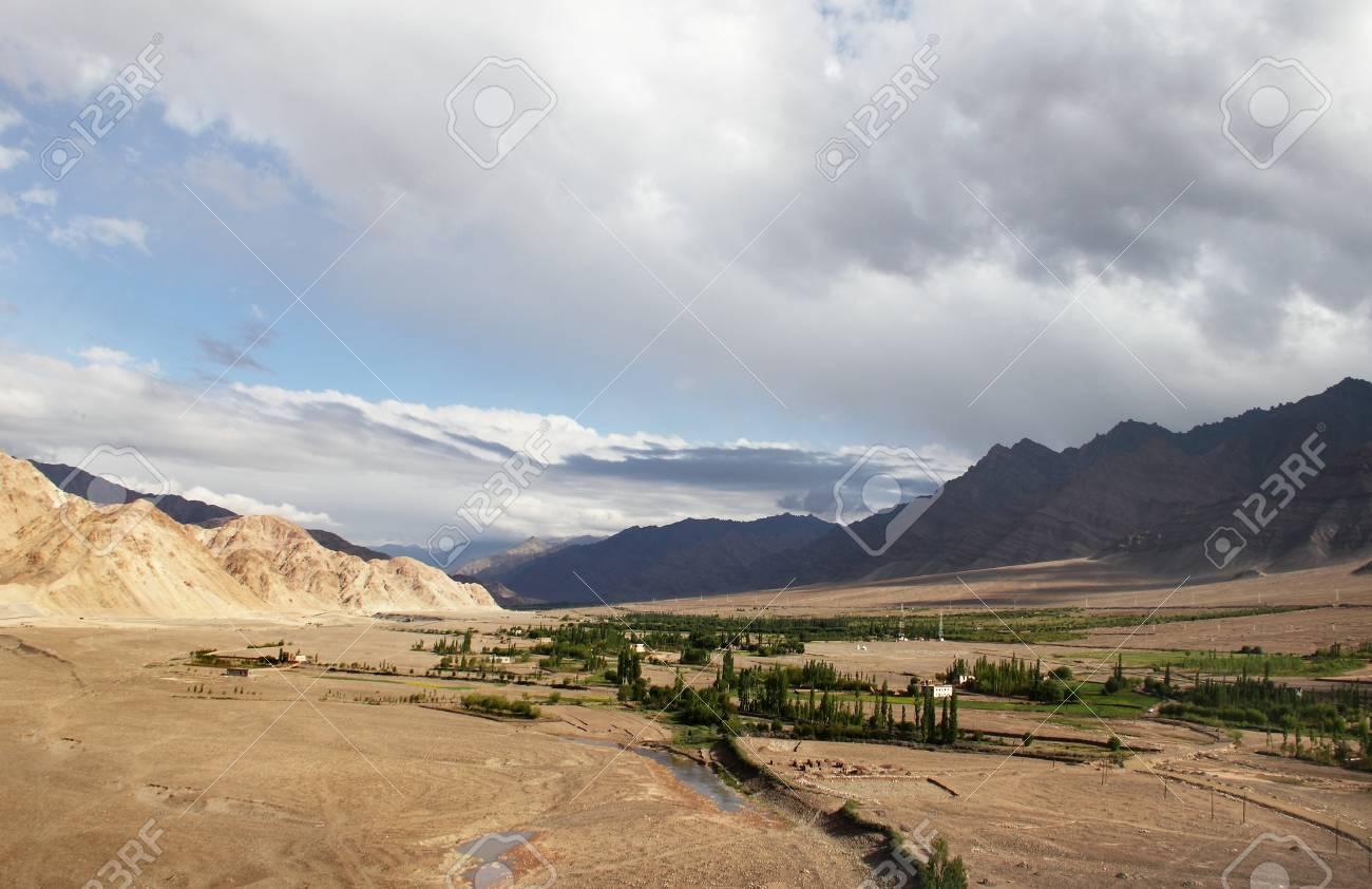 Stagna valley, Ladakh range, Northern India Stock Photo - 17711915