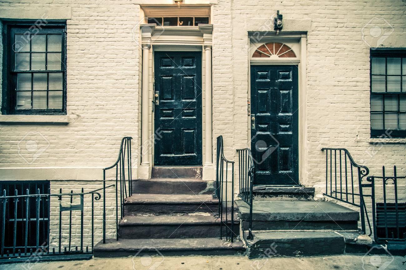 New Yorker Door on