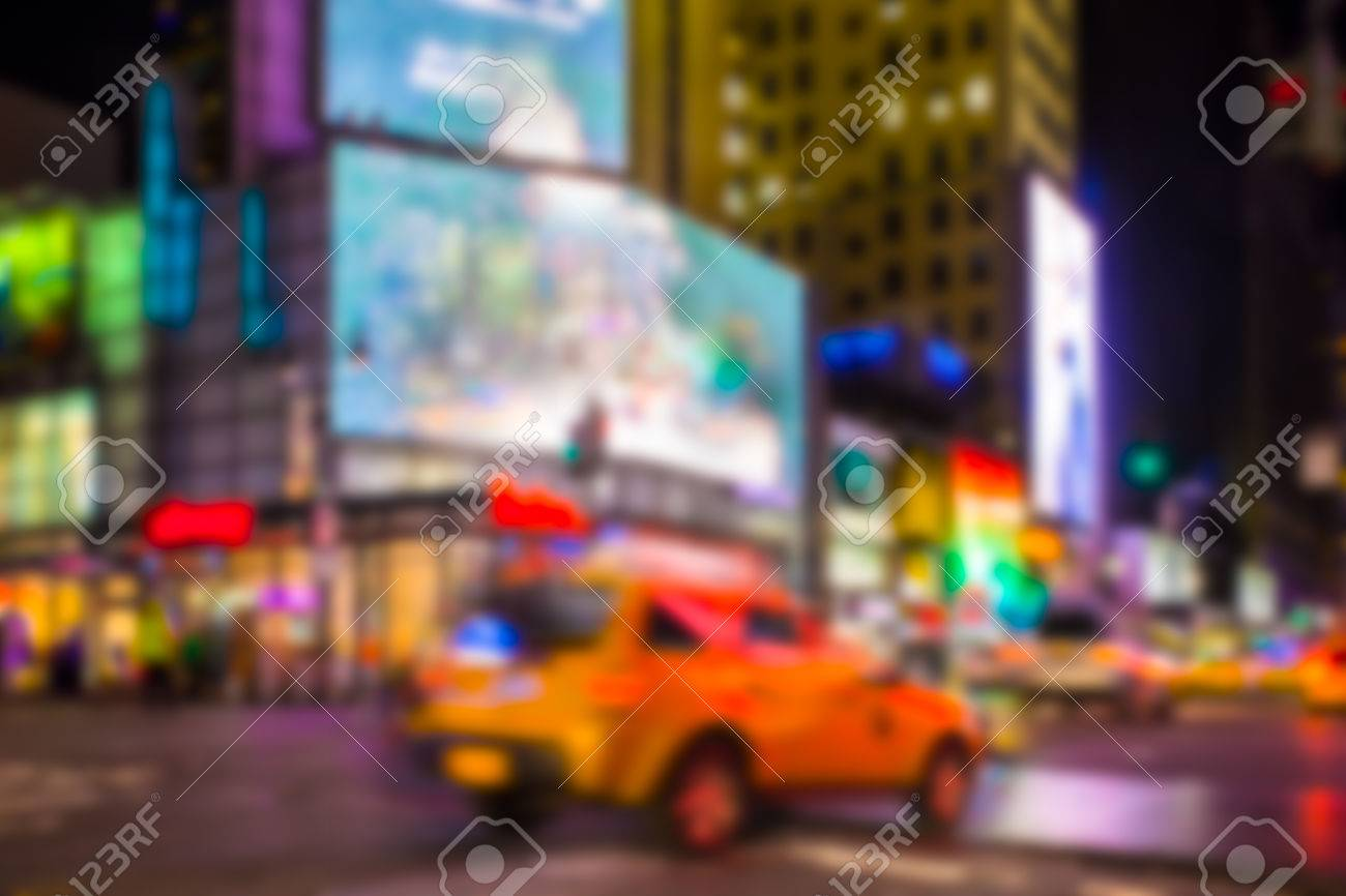 6f12f9195daf0 New York City blur Stock Photo - 70436946