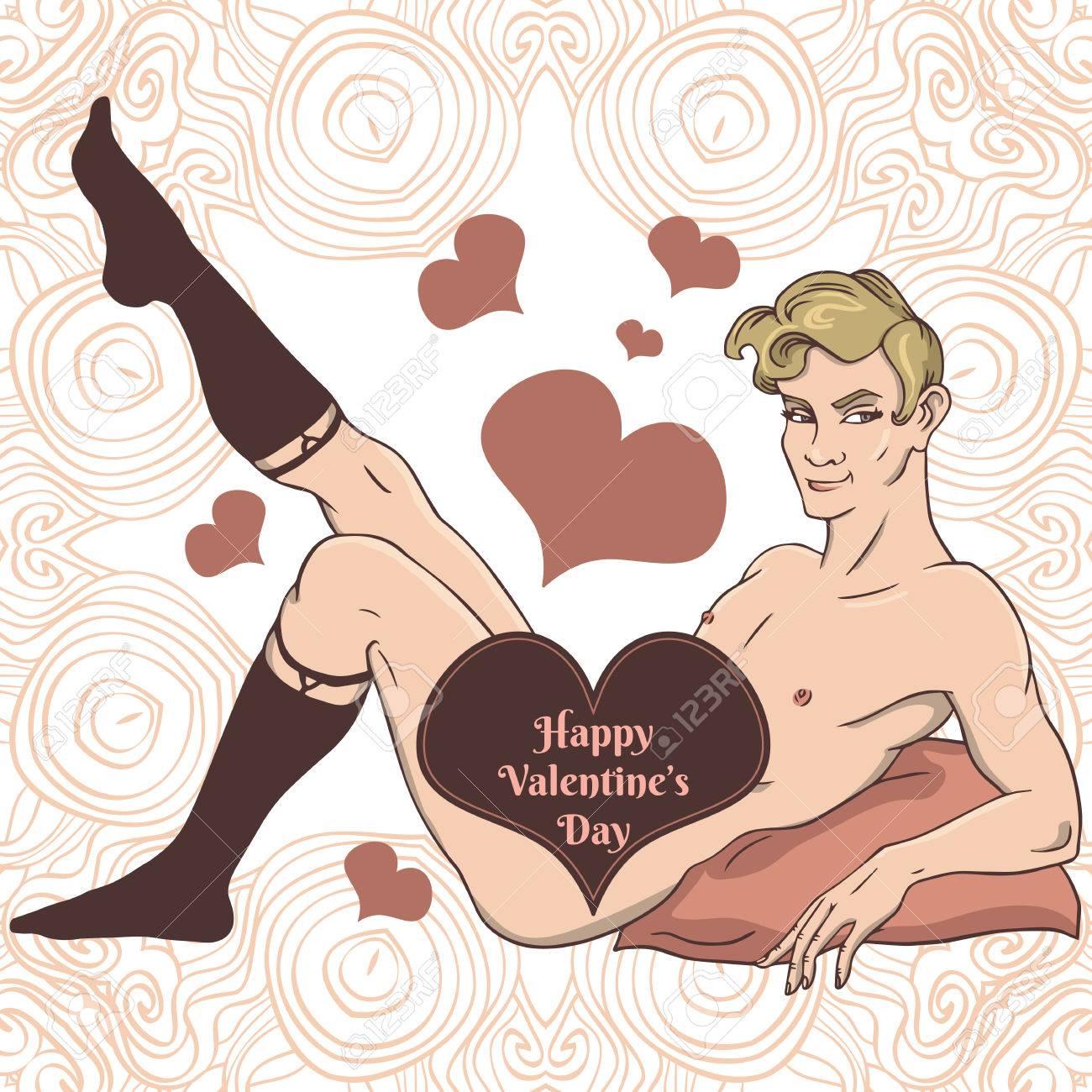Сексуальная открытка