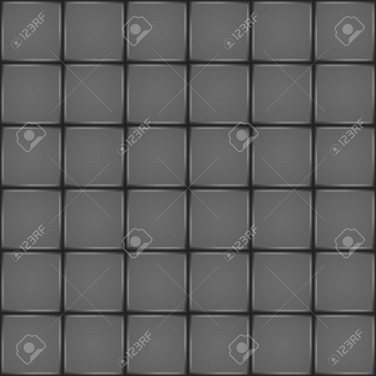 Dark Ceramic Tile Bathroom Wall Or Floor Seamless Pattern Royalty