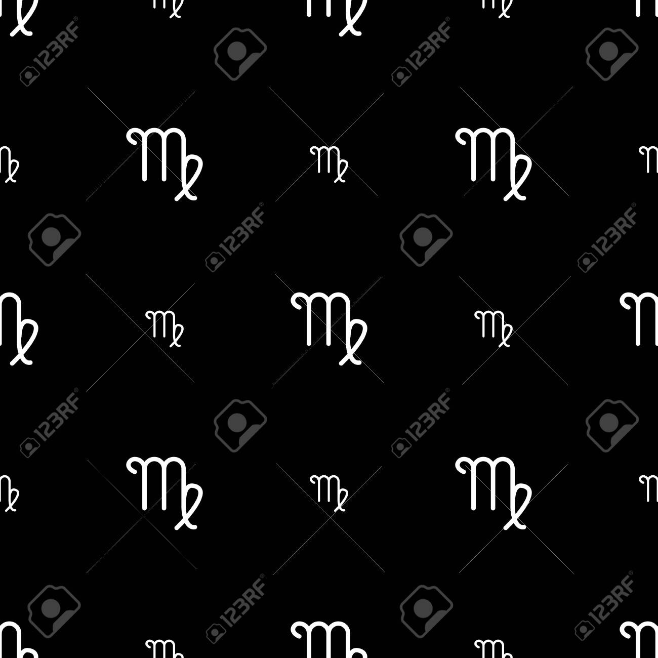 139166871 virgo zodiac sign horoscope seamless pattern texture for wallpapers fabric wrap web page backgrounds