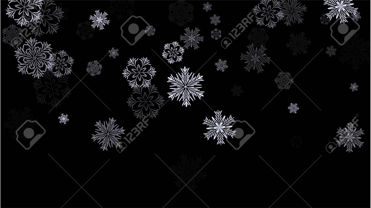 Beautiful christmas background with falling snowflakes an element beautiful christmas background with falling snowflakes an element of design with snow for a postcard stopboris Choice Image