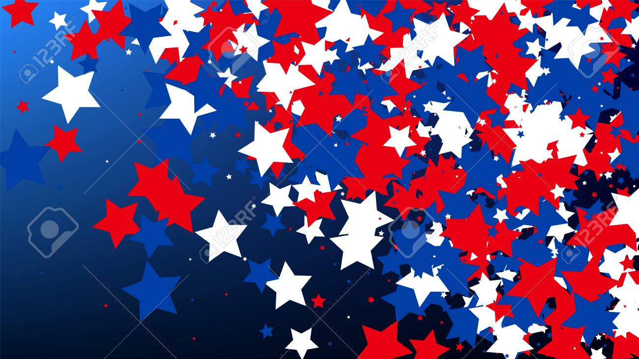 usa independence day colors of american flag red blue and royalty free cliparts vectors and stock illustration image 112695691 usa independence day colors of american flag red blue and
