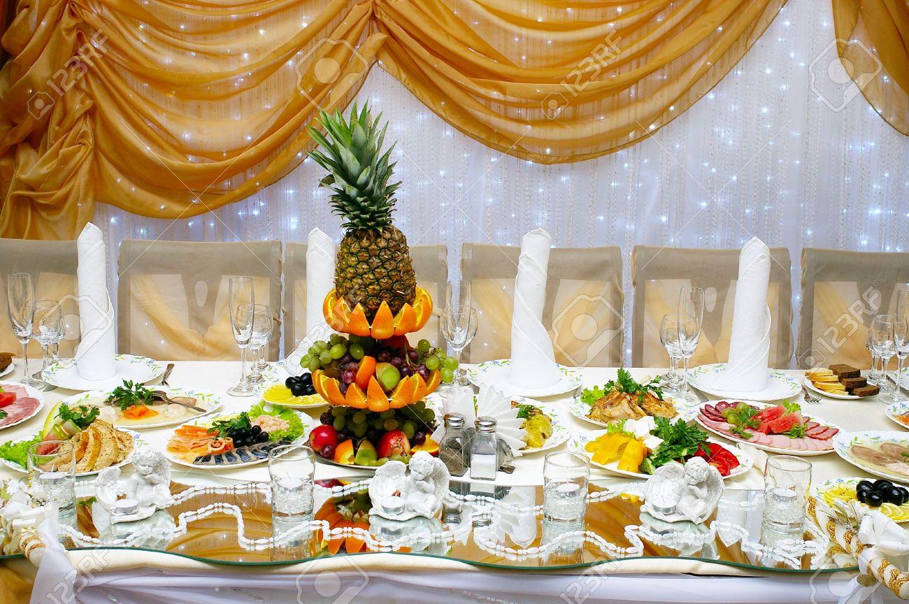 Меню блюд на свадьбу фото