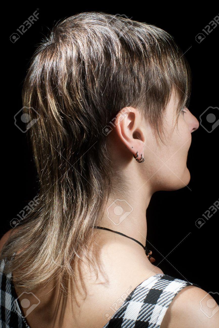 Фото коротких стрижек сзади с хвостиками