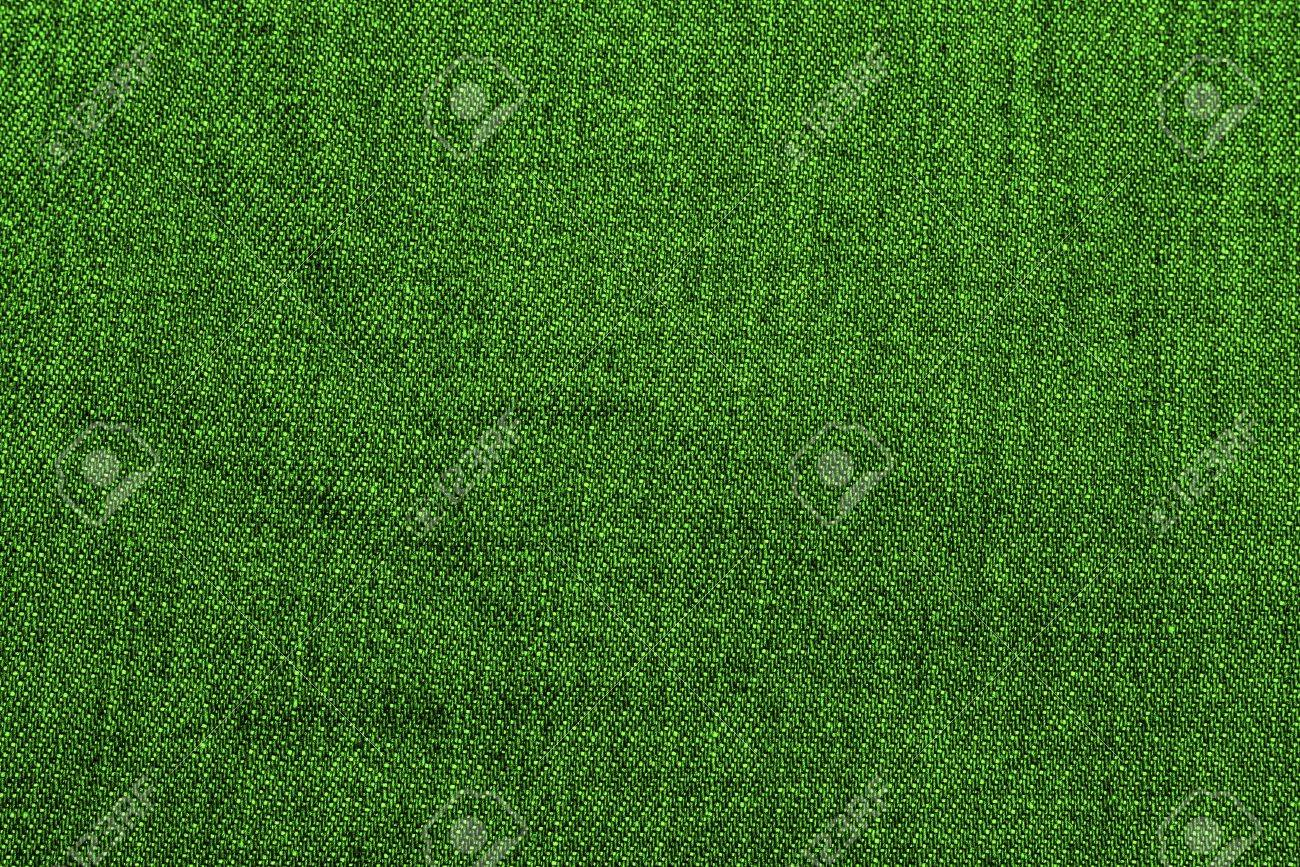 Green Denim Fabric Texture