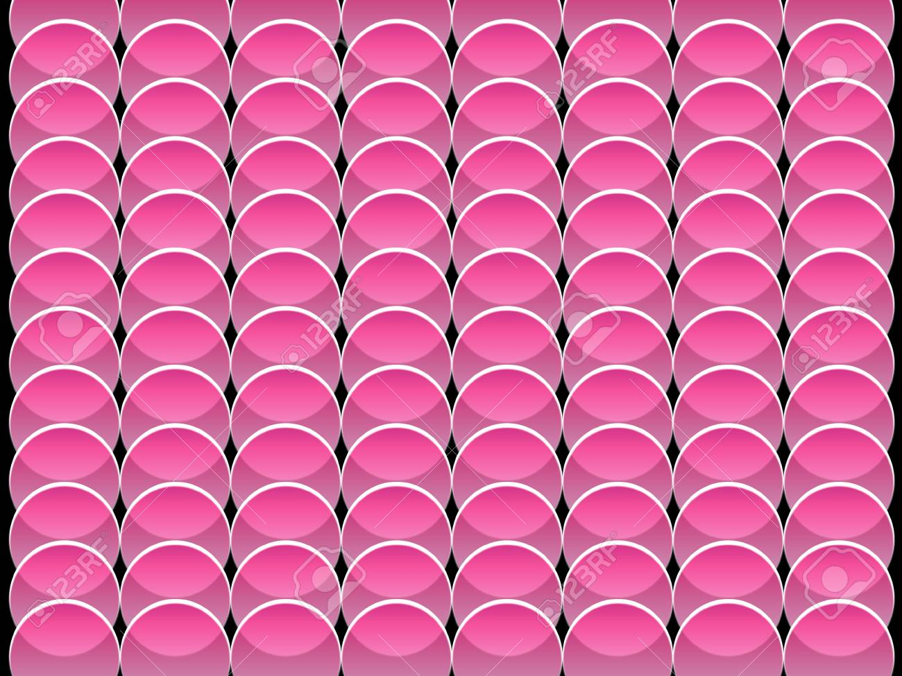 seamless abstract pink graphic circle shapes Stock Photo - 9108293