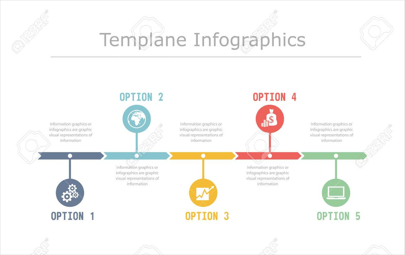 business timeline infographics vector design template for financial