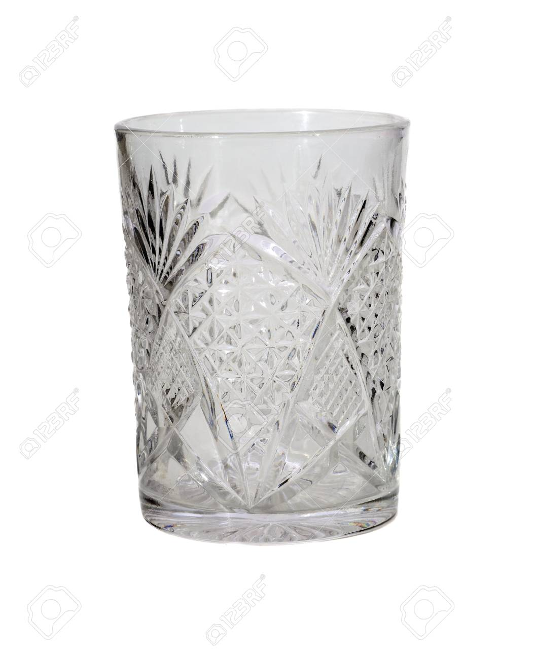 Water glass, isolated on white - 29766910