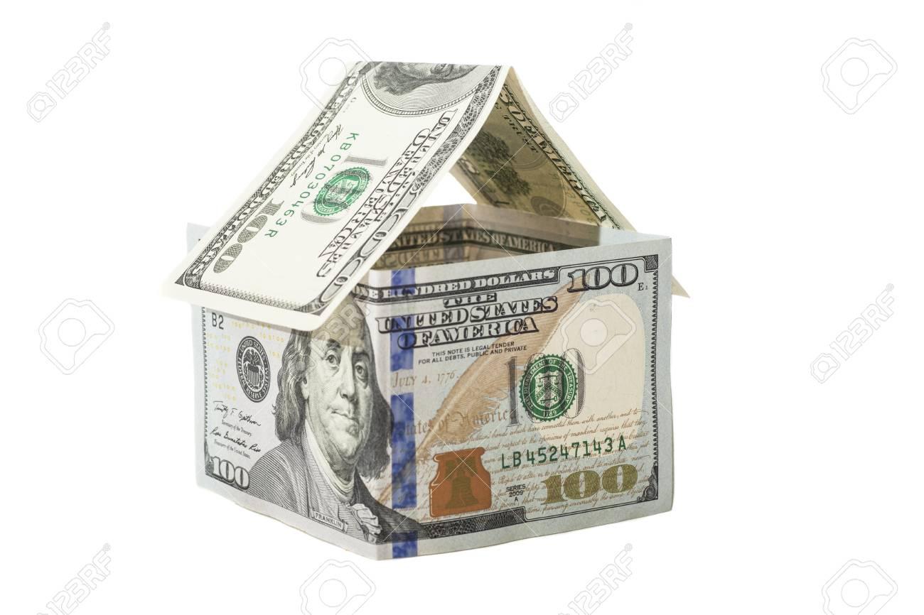 House of one hundred dollar bills - 29766913