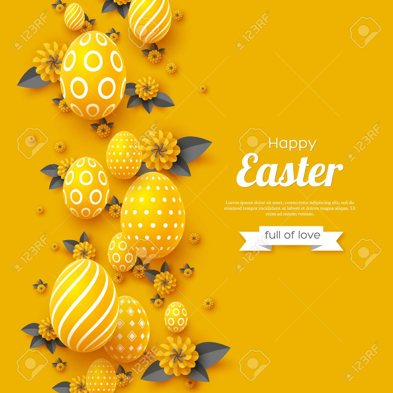 Easter holiday greeting card. - 102080925