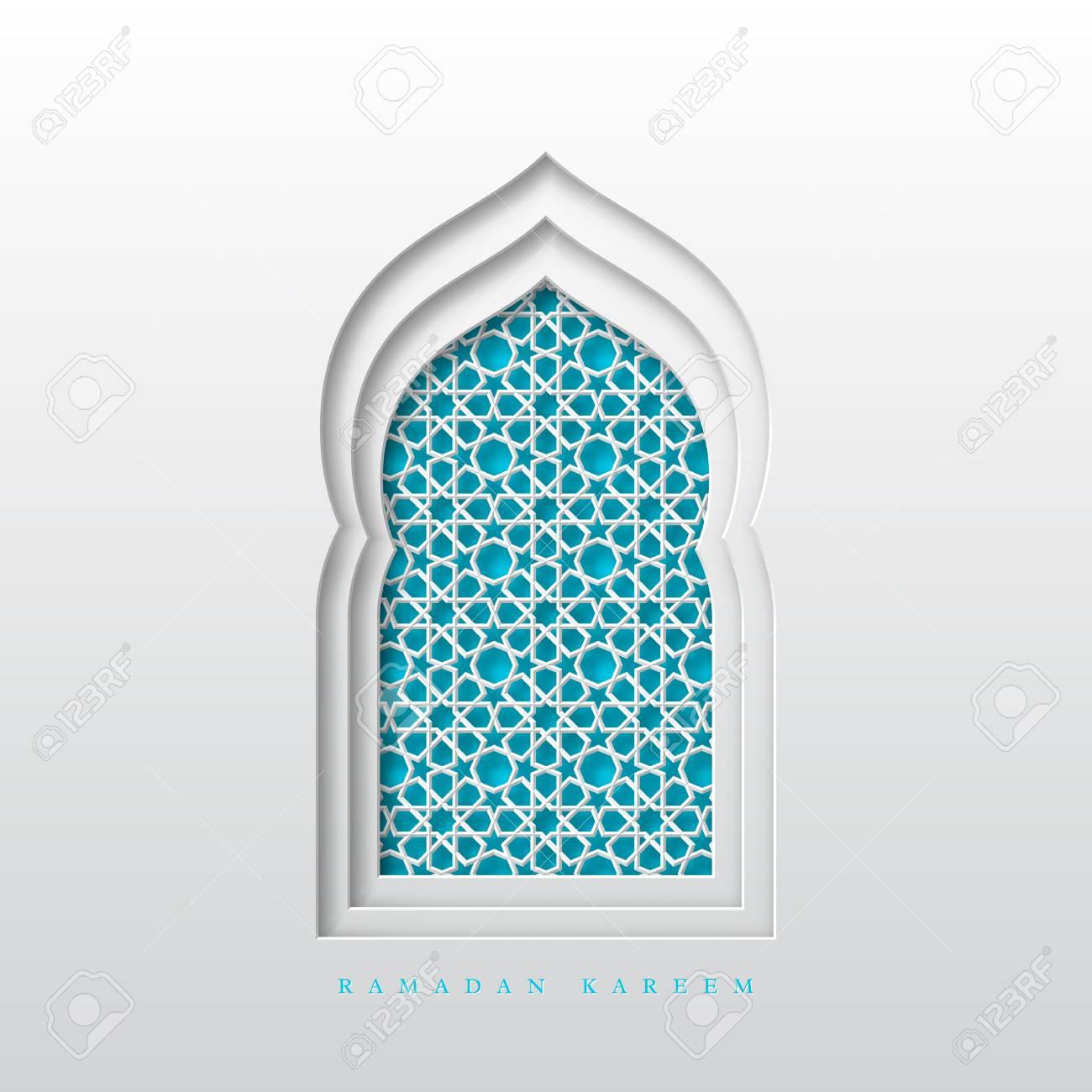 Ramadan Kareem greeting background. 3d paper cut arabic window.. on jerusalem window, jesus window, valentines day window, thank you window, fashion window, new year window,