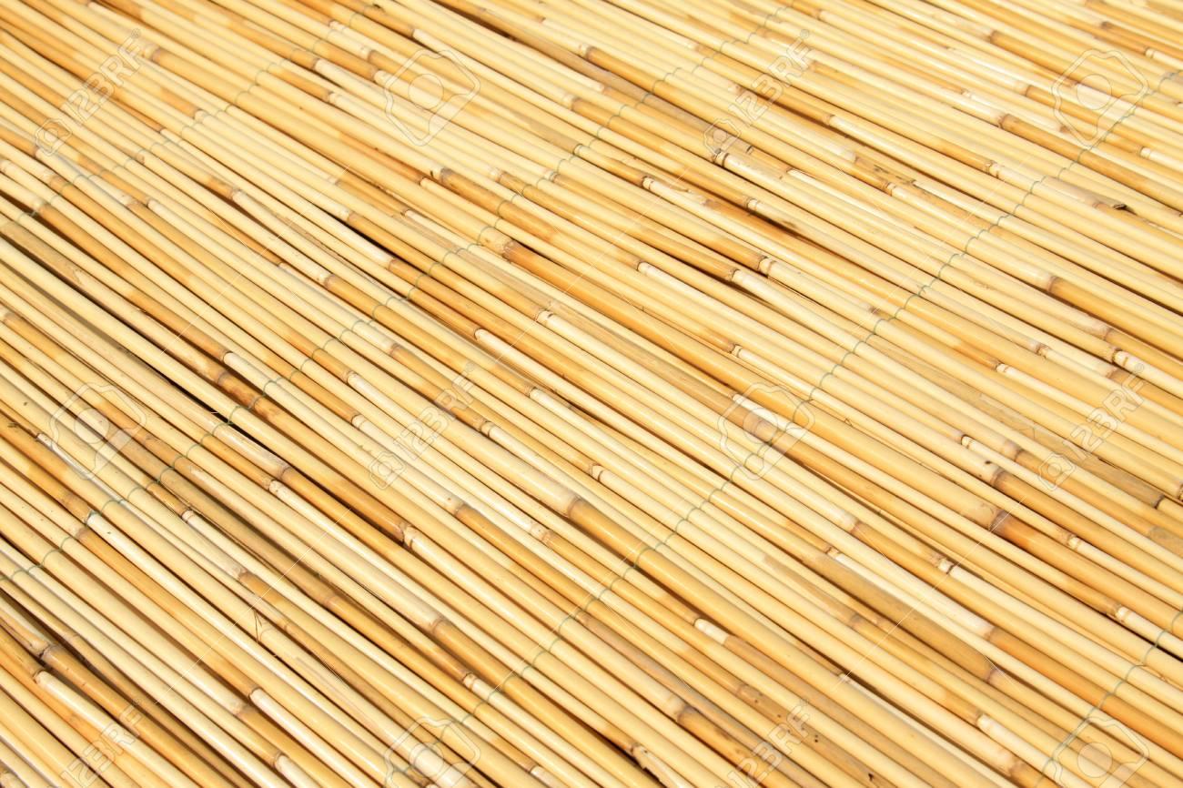 reeds curtain texture feature, closeup of photo Stock Photo - 23366771