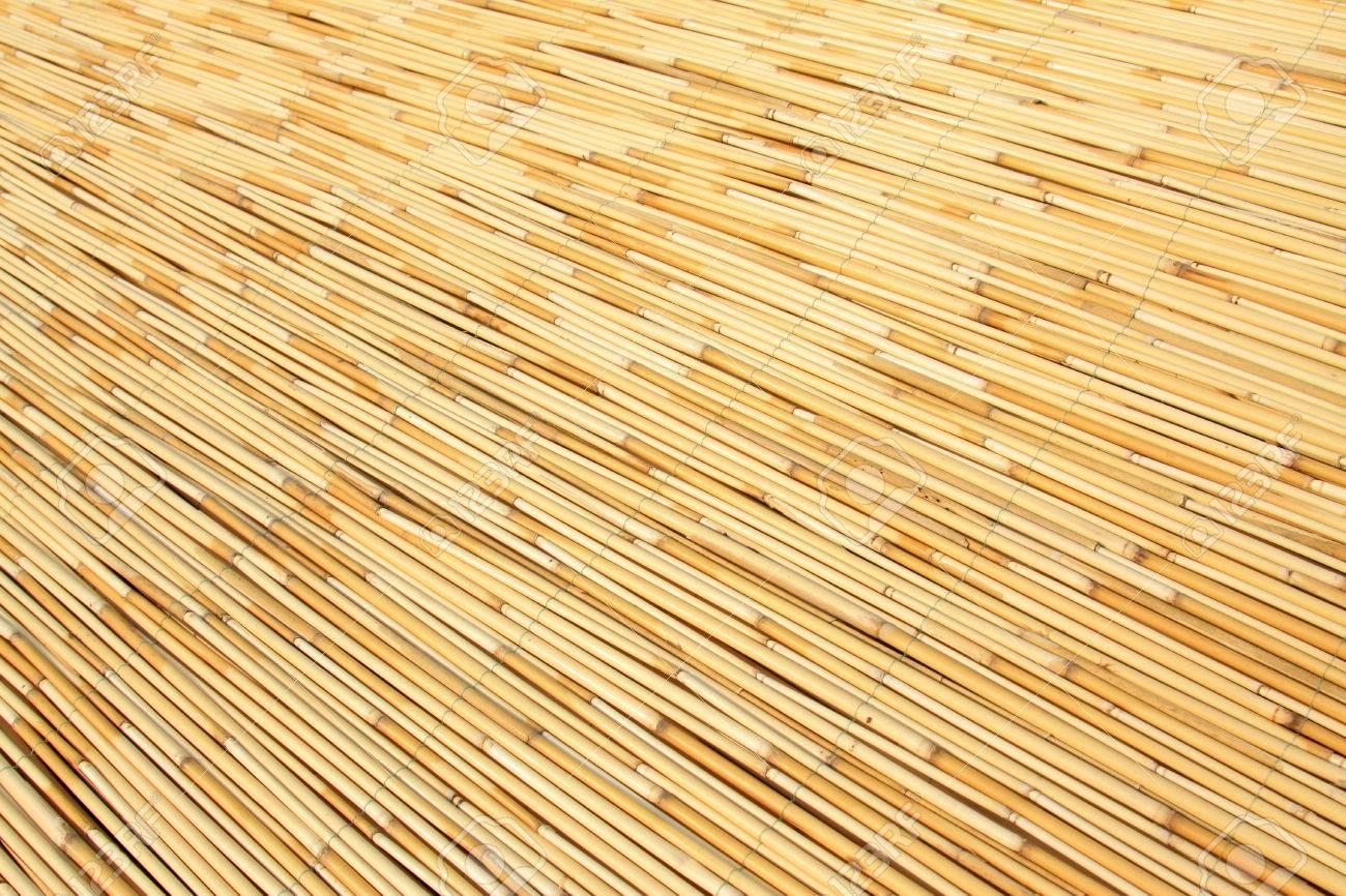 reeds curtain texture feature, closeup of photo Stock Photo - 23523273