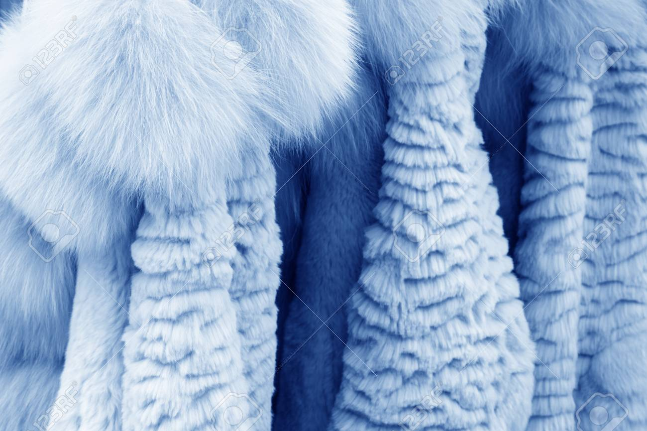 Well-organized fur clothing in a shop, north china Stock Photo - 26455182