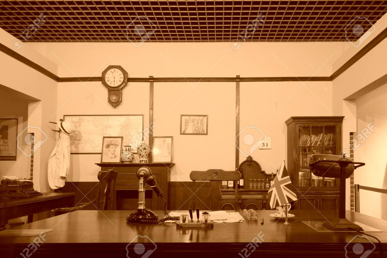 Tangshan november 16: the office in kaiping mining bureau in