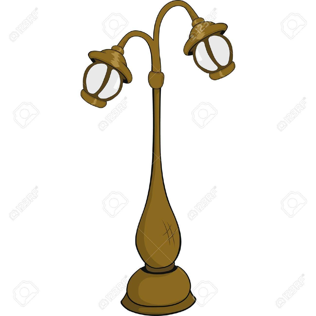 Street lantern,lamp. Cartoon Stock Vector - 11984923